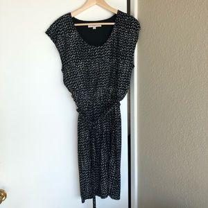 Loft Bohemian Belted Dress